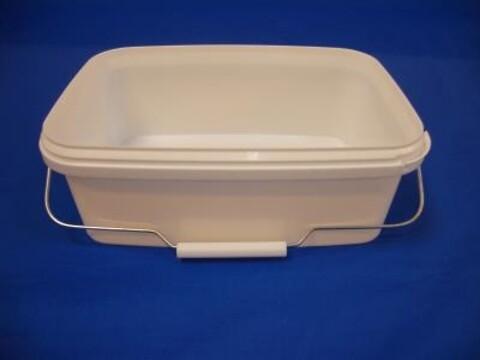 Plastspand ERE3500 - 3,6 l. - hvid