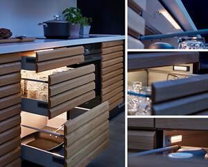 skuffelys, drawer light, skuffe, lys, light, LED, loevschall