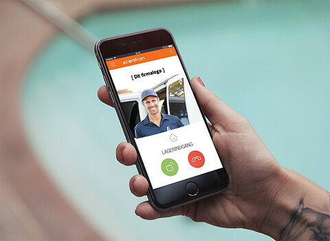 MultiApp® Pro – Dørtelefon app til erhverv - MultiApp Pro Scantron Dørtelefon app