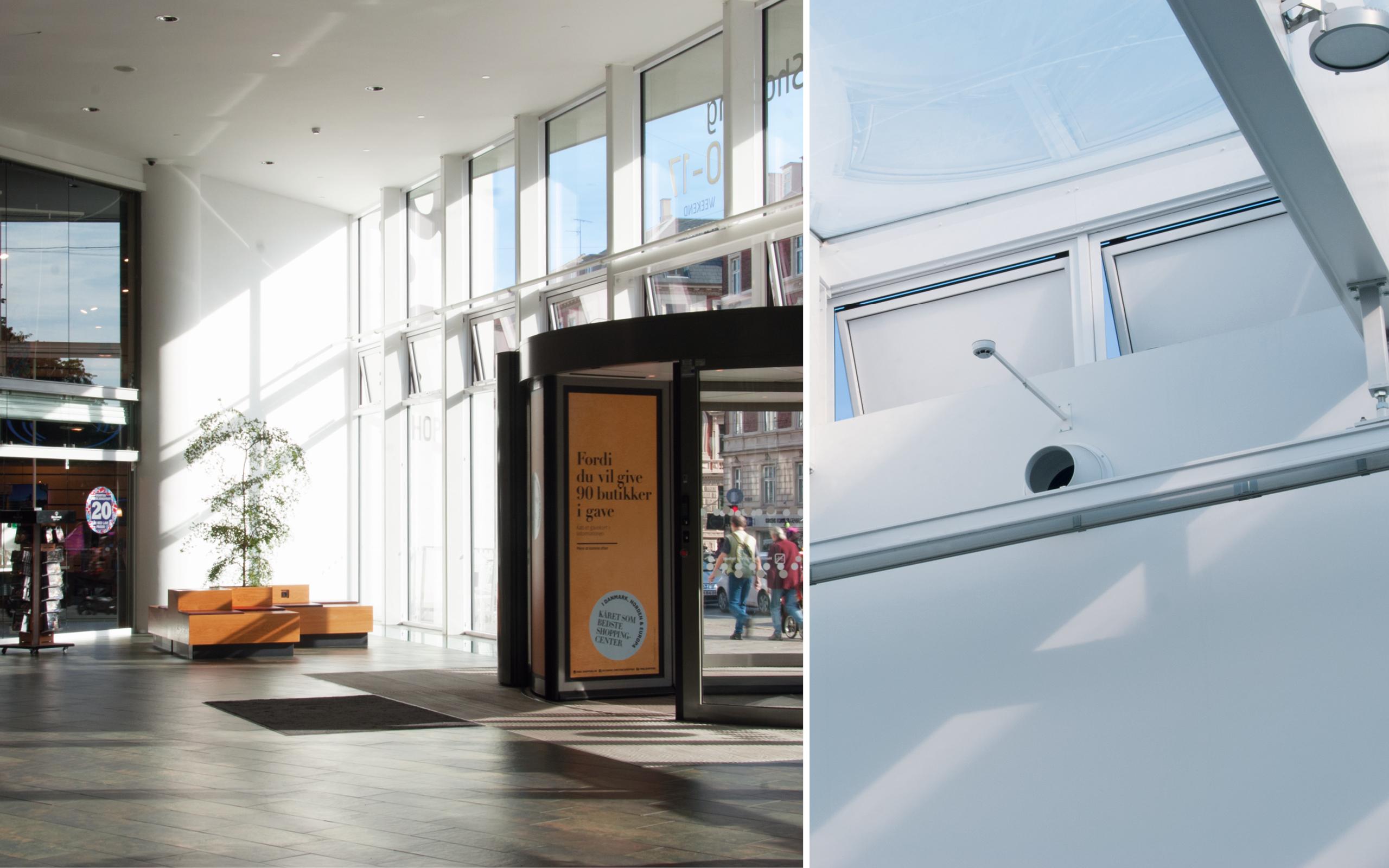 Naturlig ventilation sikrer stabilt indeklima i nordens bedste shoppingcenter - Mester Tidende