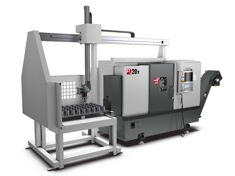 HAAS Automation, Inc. ST-20Y med APL
