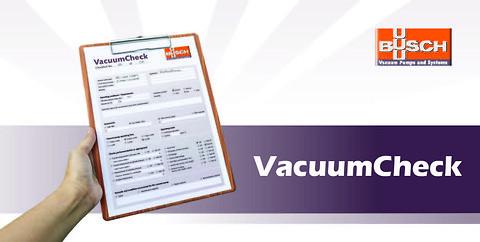 VacuumCheck - Få en kostnadsfri genomgång av dina vakuumpumpar och system.