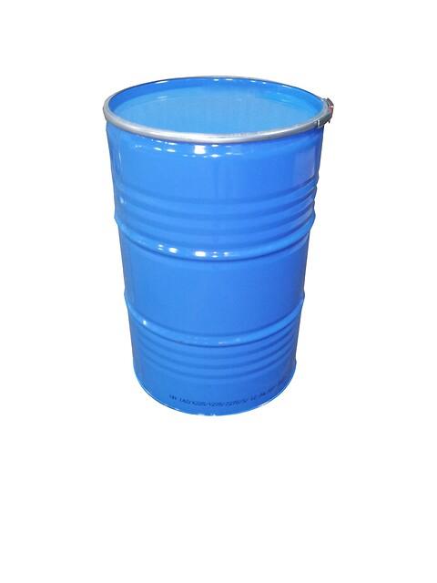 Fødevare-godkendt stållågsfad 212L. til faste og flydende stoffer
