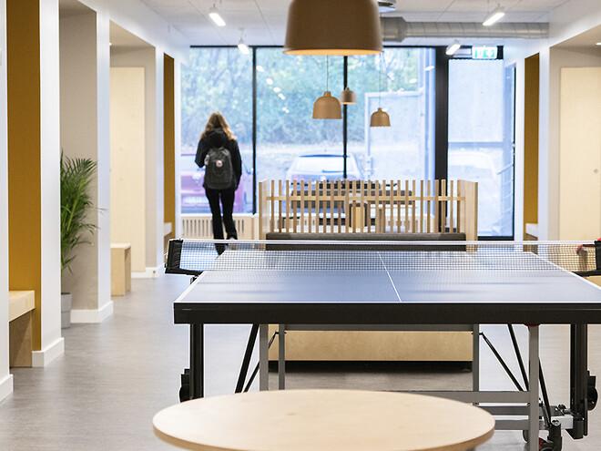 kollegium fællesområder indretning erhverv møbler leverandør