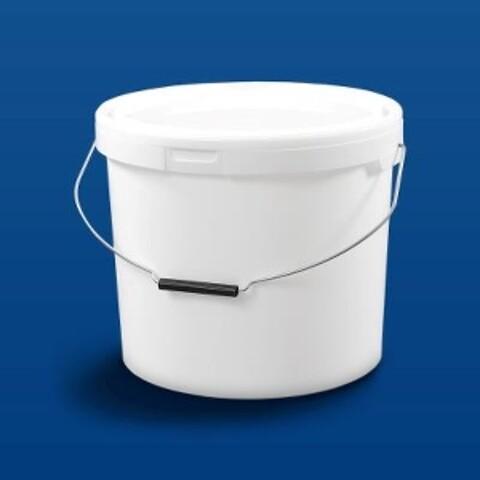 Plastspand HOM18500 - 17,5 l. m/metalh.- hvid