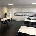 I Nordkystens nye lokaler i Glostrup er kantineforholdene også i orden.