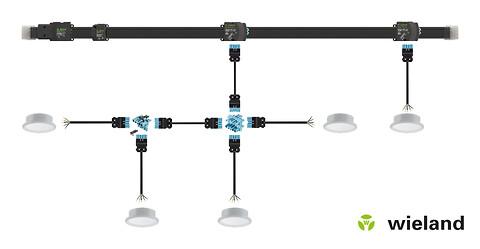 Wieland Electric tilbyder smarte løsninger til f.eks. hotel installationer! - gesis® NRG system installation fra Wieland Electric