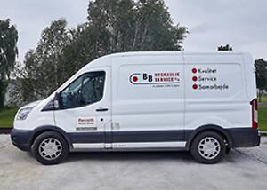 Hydraulik service bil \nNy hydraulik servicetekniker søges