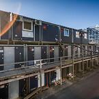 Ajos leverede en stor skurby til både timelønnede og funktionærer, da Niels Bohr Bygningen i København blev opført.