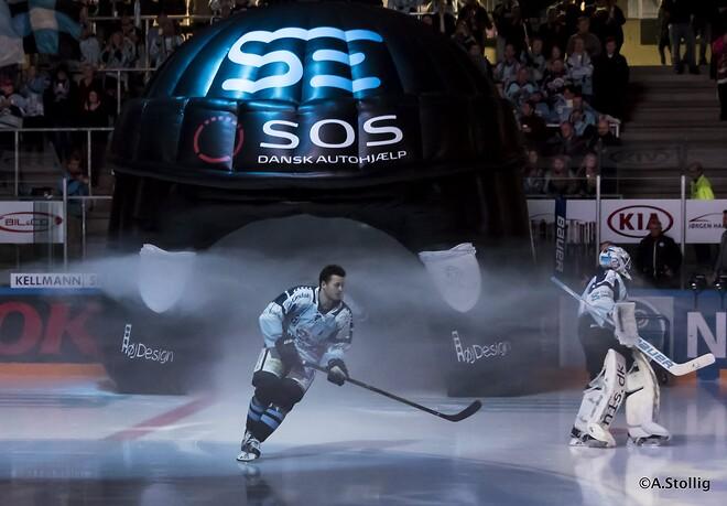 Flot oppustelig ishockey hjelm