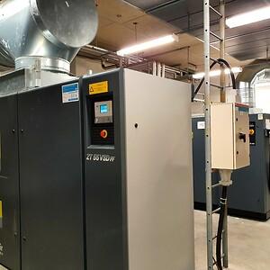 Syntronic oljefria kompressorer från Atlas Copco