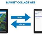 Topcon Magnet Collage Web. Del når som helst og hvor som helst. Bliv bedre informeret og mere produktiv.