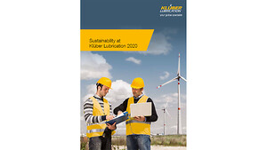 Klüber Lubrication publiserer en ny bærekraftsrapport