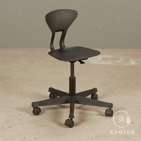 Labofa ray børne kontorstol. sort
