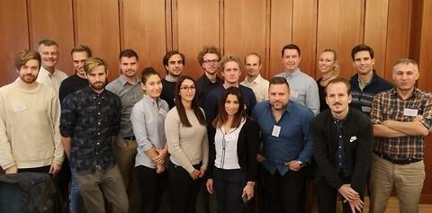 Certifiering av Stålbyggnadskonstruktörer 2019 - CSK-deltagare från kursomgången 2018