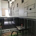 Et kraftgulv muliggør fleksibilitet i placering af støtteben