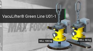 Køb VacuLifter Green Line U01-1 hos Max Fodgaard A/S