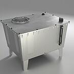 Technoflex hydraulik tank I aluminium