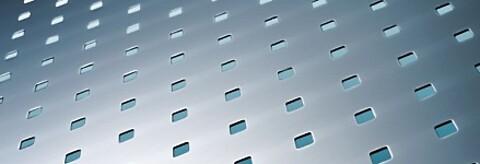 Perforering med firkanthull fra RMIG