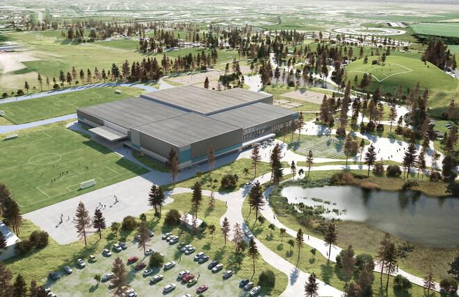 Ny kæmpe-sportsby baner vej for effektiv regnvandshåndtering