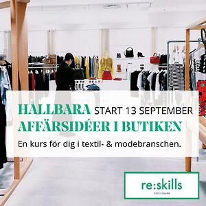 Ny kurs i projekt reskills - Hållbara affärsidéer i butiken