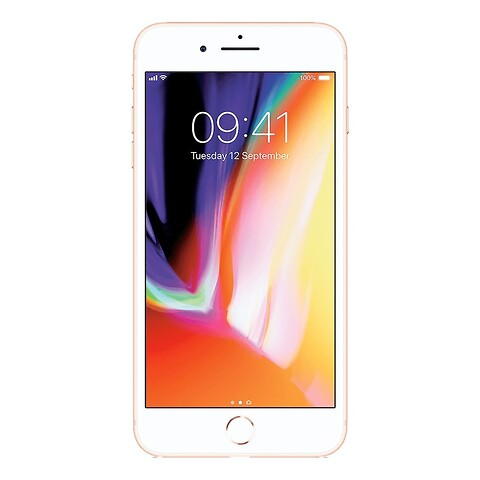 Apple iphone 8 plus 64GB (guld) - grade b - mobiltelefon