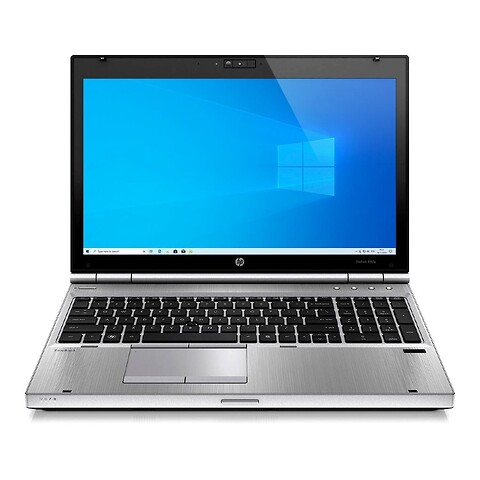 "15"" HP Elitebook 8560p - Intel i5 2520M 2,5GHz 240GB SSD 8GB Win10 Pro - Grade B - bærbar computer"
