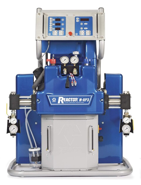 Graco Reactor 2 h-xp3 2-komponent pumpe fra Norclean AS