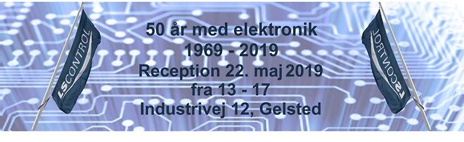 50-år, jubilæum elektronik- og udviklingsvirksomhed