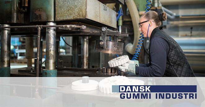 Formstøbt gummi Dansk Gummi Industri