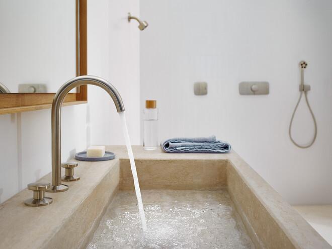 Oplev design i verdensklasse, bl.a. i form af AXORs seneste samarbejde med Barber Osgerby – AXOR One.