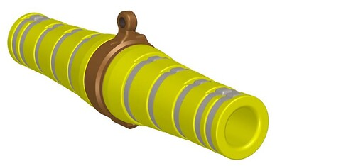 PARTNERPLAST PP Slider for seismic cables and lead-in