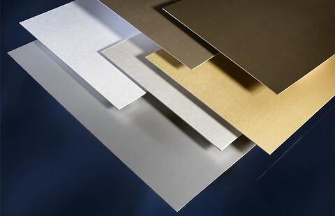 Elokserte plater i aluminium