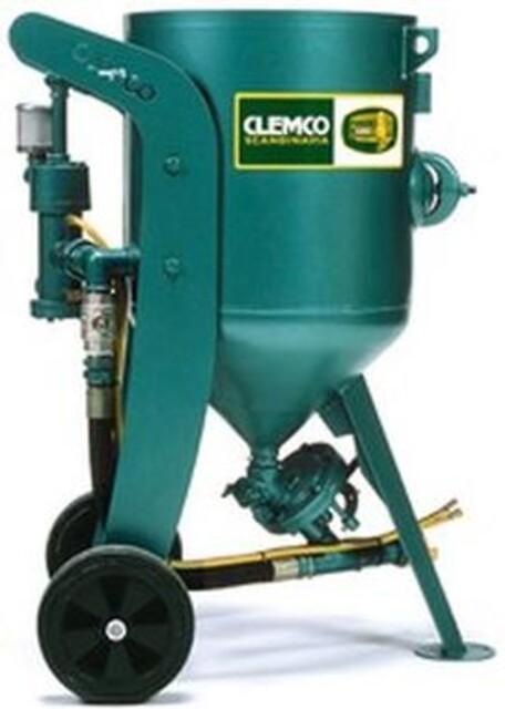 Clemco 100 liters sandblåseapparat fra Vestec