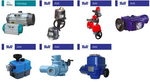 pneumatiske, elektriske og hydrauliske aktuatorer fra AVK Flow Control