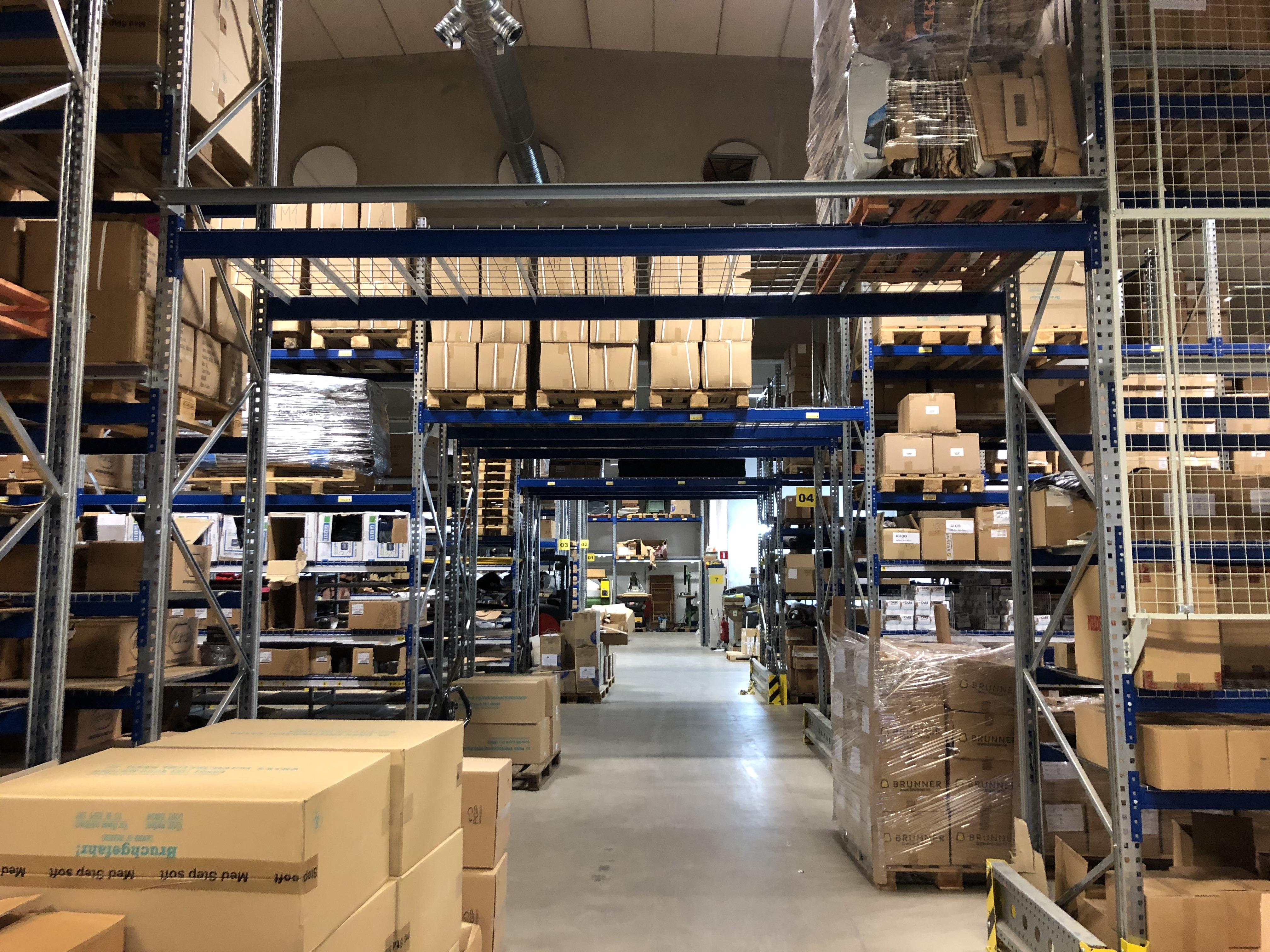 Helhetslösning hos AB H Brunner - Metal Supply SE