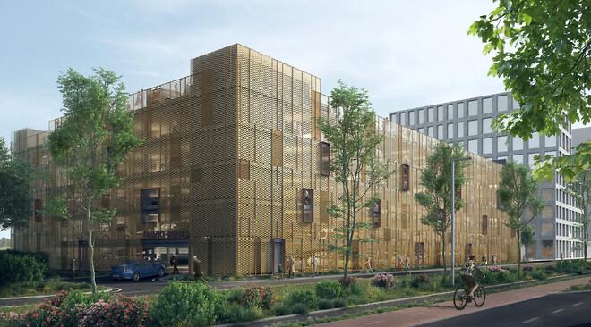 Med bæredygtighed som grundlæggende fundament fungerer det nye parkeringshus i Tobaksbyen, Gladsaxe efter hensigten.