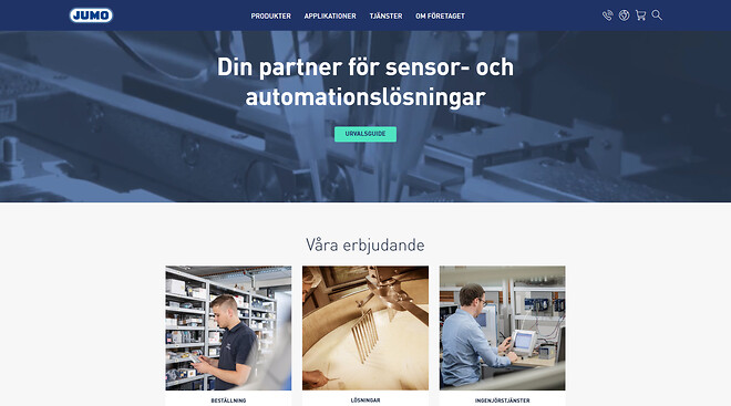 New website, sensors, automation