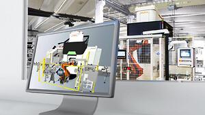 KUKA.Sim 4.0: Smart simuleringsprogramvara för programmering av KUKA-robotar