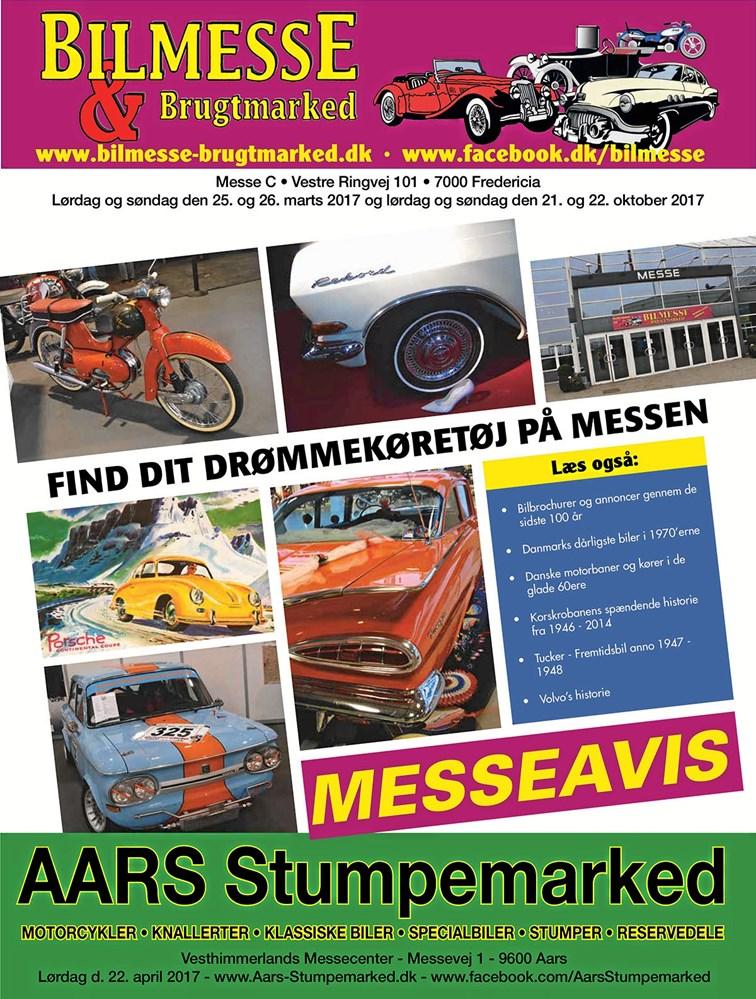 Bilmesse gør klar i Fredericia Motor magasinet