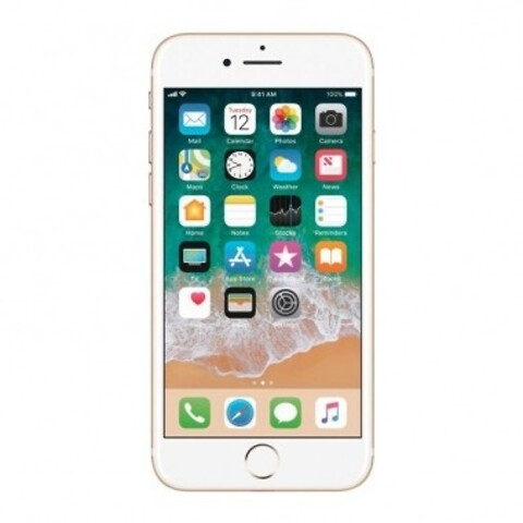 Apple iPhone 7 256GB (Guld) - Grade B - mobiltelefon