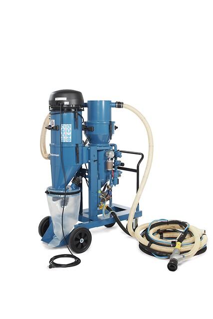 Nederman 418E/460E  Elektrisk Vacuum Blaster fra Norclean AS