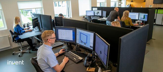 Invent A/S  søger en teknisk CAD konsulent