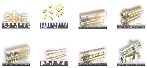 Strømmen Dreieverksted tilbyr CNC maskinerte Nippler