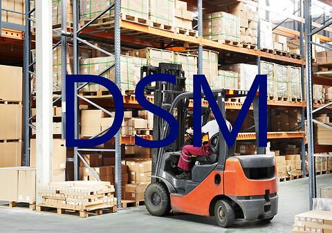 DSM modul til logistik, lager og reservedele - DSM modul til håndtering af logistik, lager og reservedele