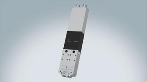 Printhoved til 3D-udskrivning af 2-komponentvæsker og pastaer