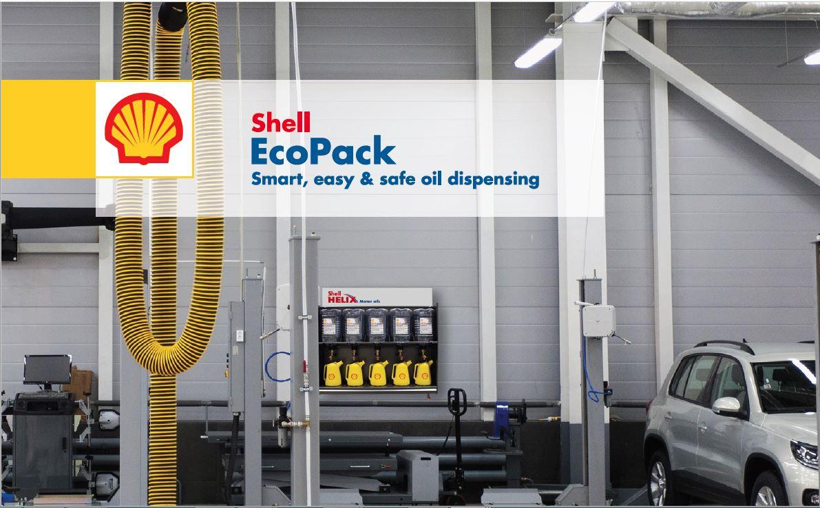 Picture of: Shell Ecopack Sikrer Dig Nem Opfyldning Og Opbevaring Af Motorolie Food Supply Dk