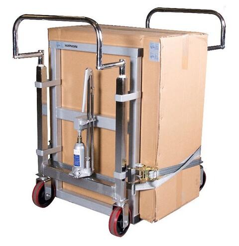 Møbeltransport 1800kg hydraulisk. sæt.