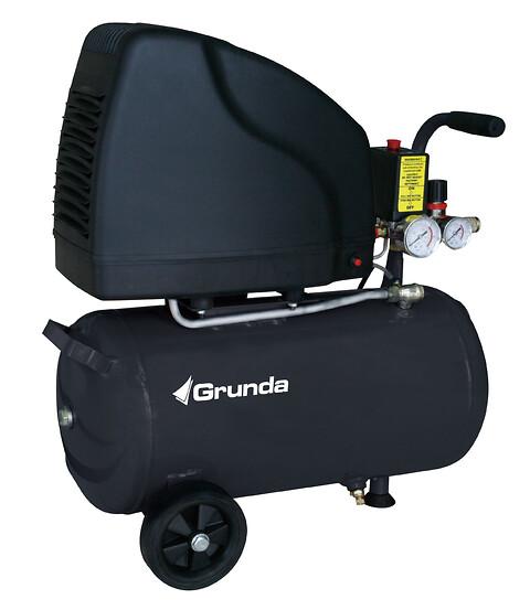 Grunda kompresser 2.0- 24L Oliefri - Grunda kompresser 2.0- 24L Oliefri