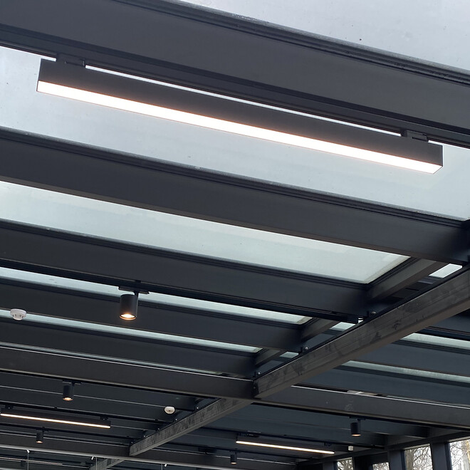 fleksibel LED skinnesystem